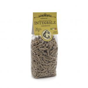 Caserecce integrali biologiche, pasta di grano duro biologico