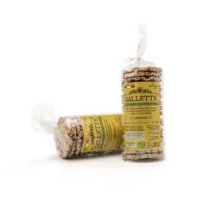 Gallette biologiche di farro e lenticchie