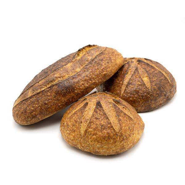 Pane pugliese di grano duro, lievitato naturalmente