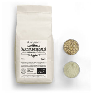 Farina di segale biologica confezione da 1 kg
